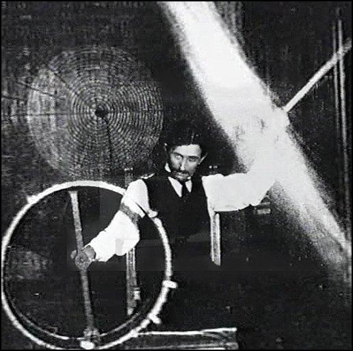 В более поздний период Тесла,